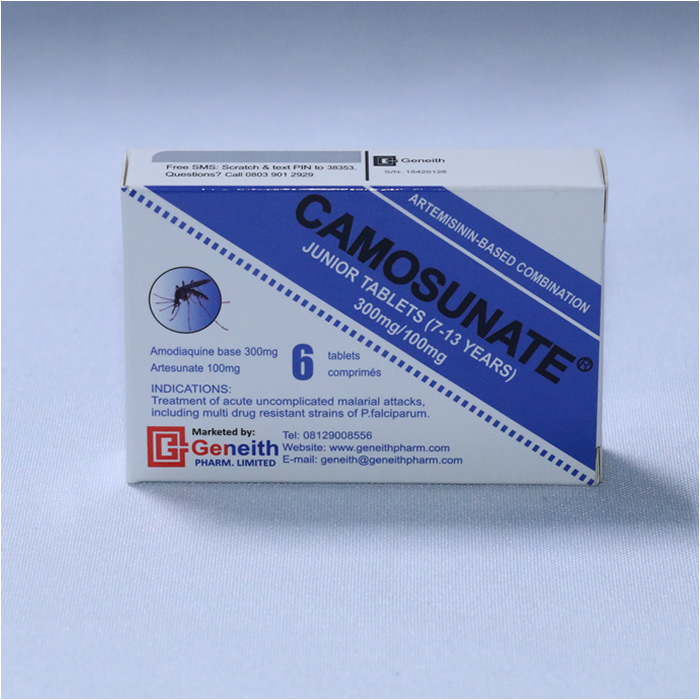 CAMOSUNATE JUNIOR TABLETS (7-13 YEARS)