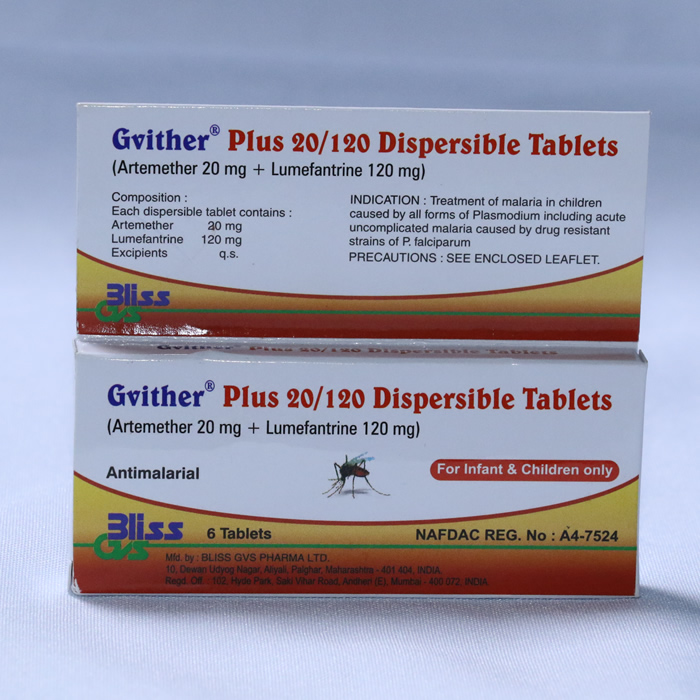 Gvither Plus 20/120
