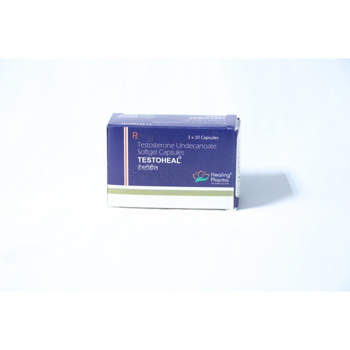 Testosterone Undecanoate (Testoheal)  healing pharma  x30 capsules