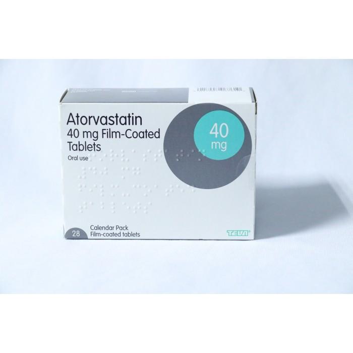 Atorvastatin  40mg x 28 tablets (Teva)