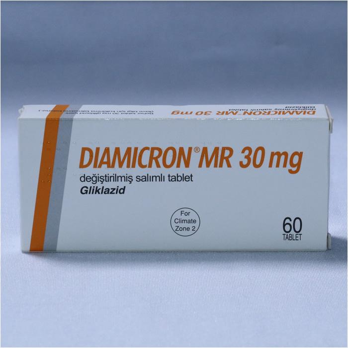 Glicazide (DIAMICRON MR)30MG