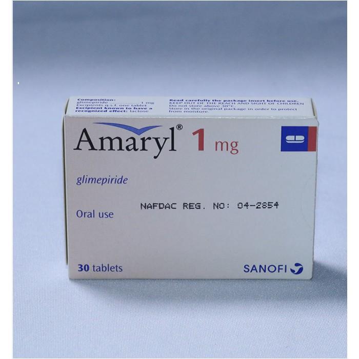 AMARYL 1MG 1 x 30 tablets