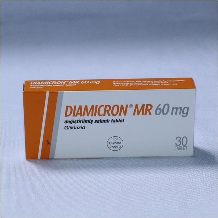 GLICLAZIDE 60mg x 30 (DIAMICRON MR)