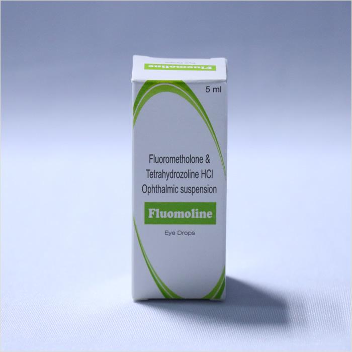 Fluorome & Tetrahydo eye drops (FLUOMOLINE)