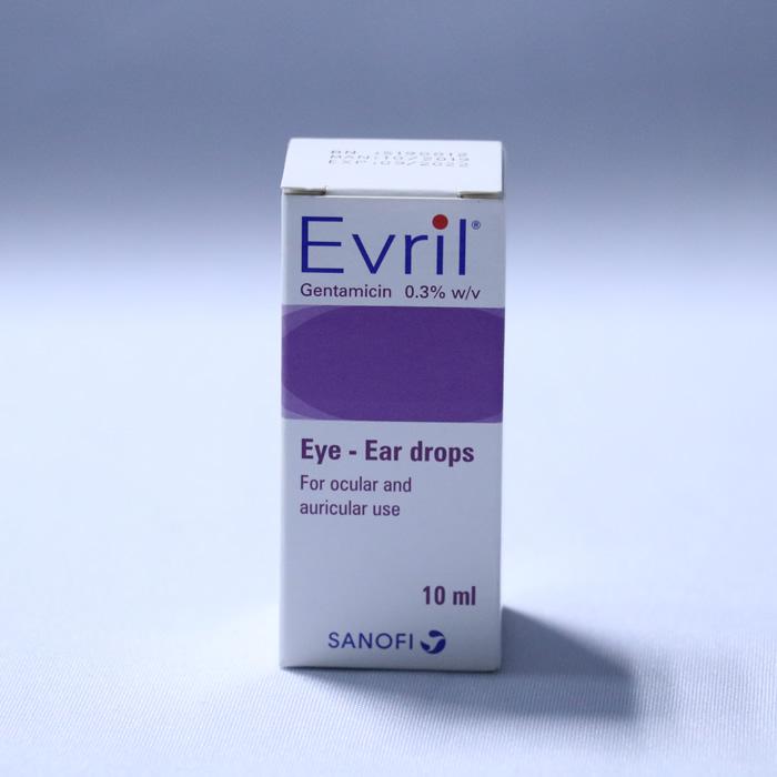 Gentamycin eye/ear drop (EVRIL)