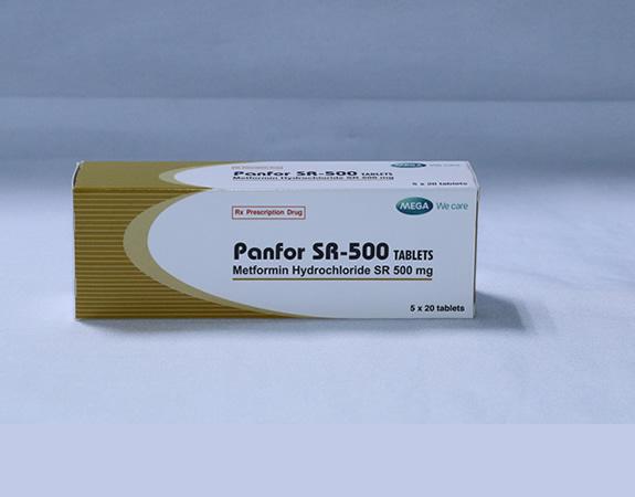 PANFOR SR -500 TABLETS